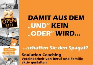 Soulution Coaching Silke Mekat Unternehmensberatung Postkarte