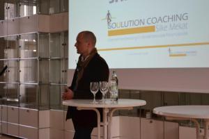 Soulution Coaching Silke Mekat Unternehmensberatung für familienbewusste Personalpolitik Veranstaltung April Sascha Schmidt