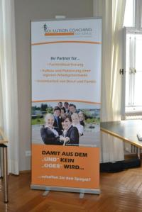 Soulution Coaching Silke Mekat Unternehmensberatung für familienbewusste Personalpolitik Veranstaltung April Banner