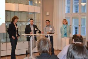Soulution Coaching Silke Mekat Unternehmensberatung für familienbewusste Personalpolitik Veranstaltung April Podiumsdiskussion