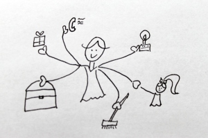 Soulution Coaching Silke Mekat Unternehmensberatung für familienbewusste Personalpolitik Fachkräftesicherung Multitasking Mutter